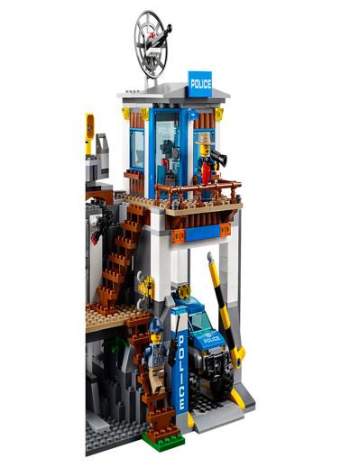 Lego LEGO City Police Mountain Police HQ Renkli